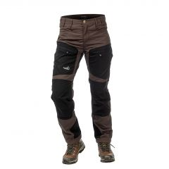Active Stretch Pants Short Women Brown | Arrak Outdoor