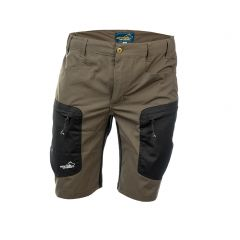 Active Stretch Shorts Men Brown