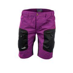 Active Stretch Shorts Women Fuschia