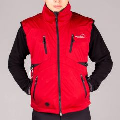 Acadia Softshell Vest Unisex Red | Arrak Outdoor