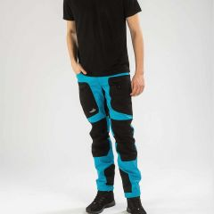 Active Stretch Pants Men Blue