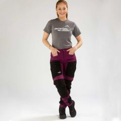 Active Stretch Pants Long Women Fuchsia | Arrak Outdoor