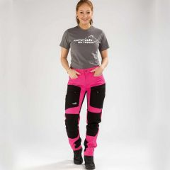 Active Stretch Pants Long Women Pink | Arrak Outdoor