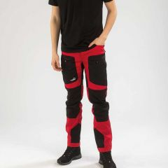 Active Stretch Pants Short Men Red