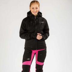Akka Softshell Jacket Unisex Black | Arrak Outdoor