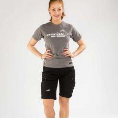 Active Stretch Shorts Women Black