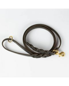 Dog Leash of Latigo Leather | Arrak Outdoor
