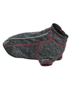 Boomer Fleece Jacket Black/Grey for Dogs | Trespass | Arrak Outdoor