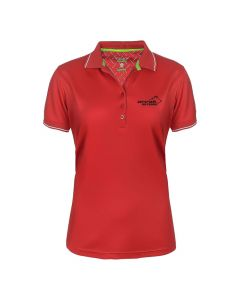 Pro 99 Golfer Polo Lady Red