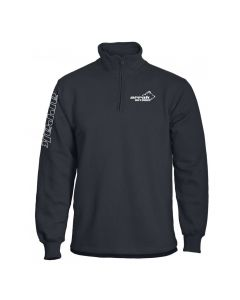 Runner Halfzip Black Sweatshirt