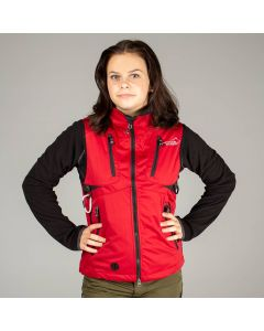 Acadia Softshell Vest Red Women | Arrak Outdoor