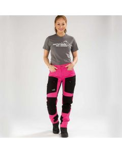 Active Stretch Pants Long Women Pink