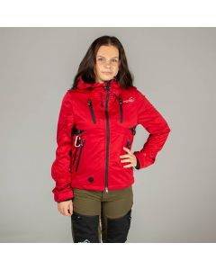 Akka Softshell Jacket Red Women | Arrak Outdoor