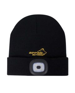 Knitted Hat LED Men Black