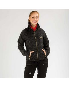Sarek Fleecejacket Women Black | Arrak Outdoor