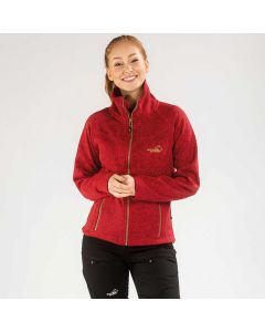 Sarek Fleecejacket Women Red | Arrak Outdoor