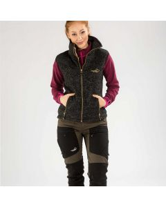 Vette Fleece Vest Women Black